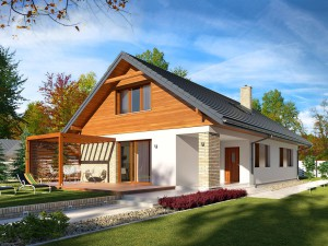 Projekt domu Bono 2