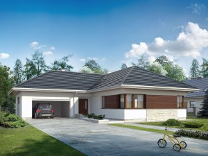 Projekt domu Driada 3