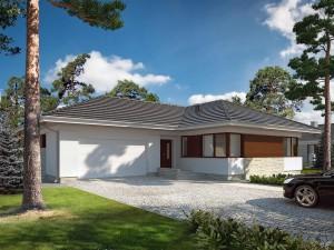 Projekt domu Driada 4