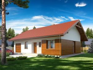 Projekt domu Gaja 2 drewniana