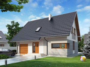 Projekt domu Karmel 3