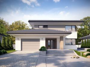 Projekt domu Korso