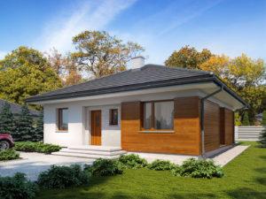 Projekt domu Elsa drewniana