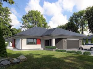 Projekt domu Asan 2